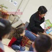 Poner el ejemplo para enseñar a leer